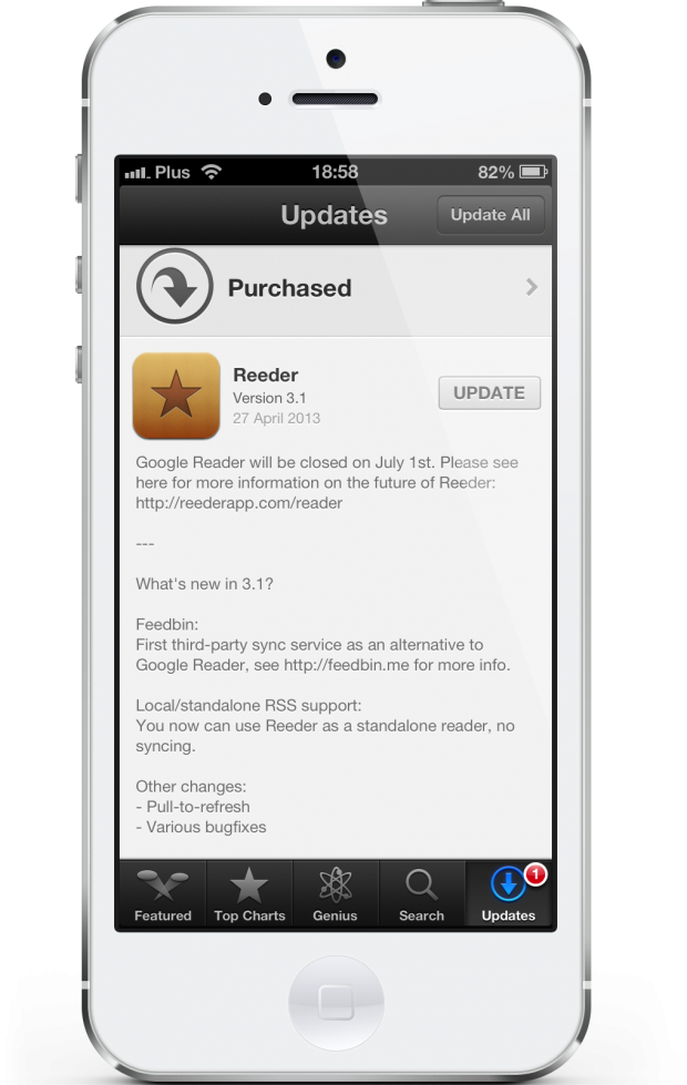 Reeder 3.1